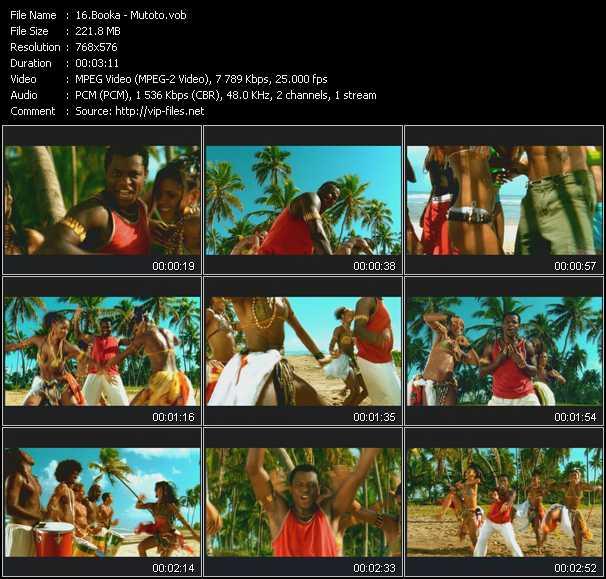 Booka video screenshot