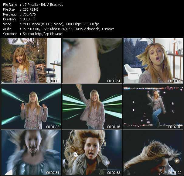 Priscilla video screenshot