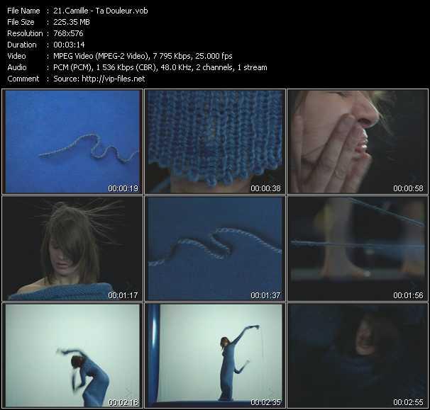 Camille video screenshot