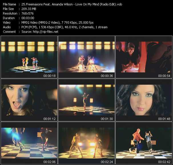 Freemasons Feat. Amanda Wilson video screenshot