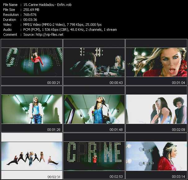 Carine Haddadou video screenshot