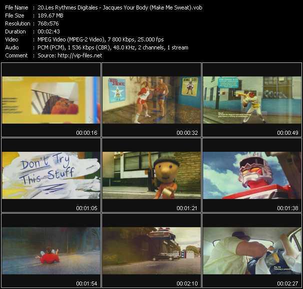 Les Rythmes Digitales video screenshot