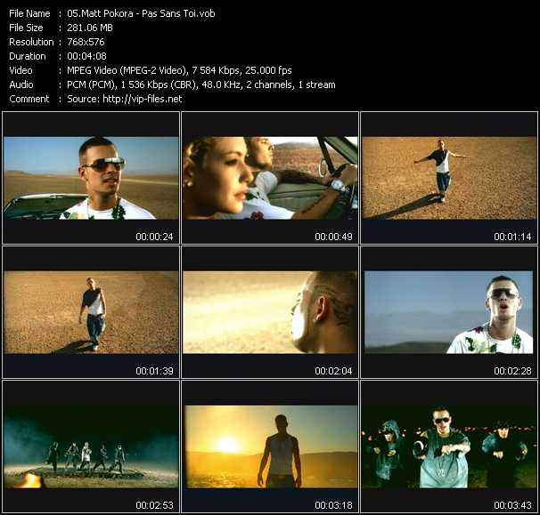Matt Pokora (M. Pokora) video screenshot