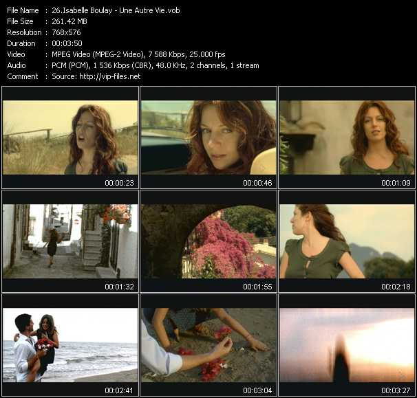 Isabelle Boulay video screenshot