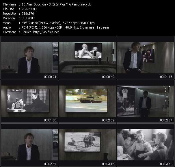 Alain Souchon video screenshot