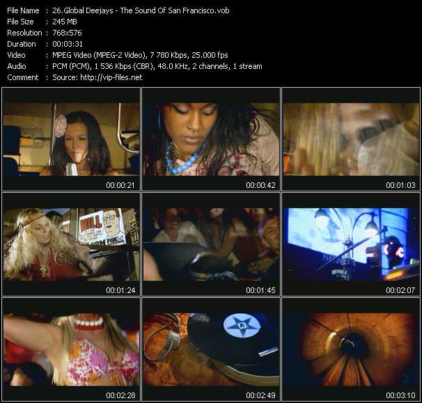 Global Deejays video screenshot