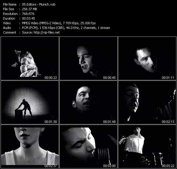 Editors video screenshot
