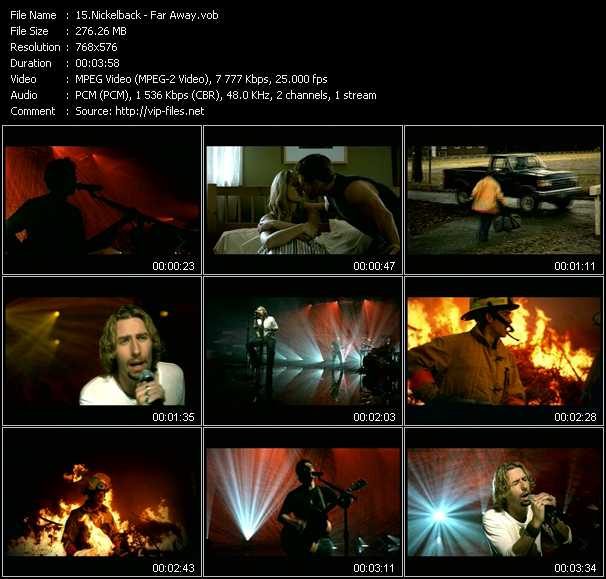 Nickelback video screenshot