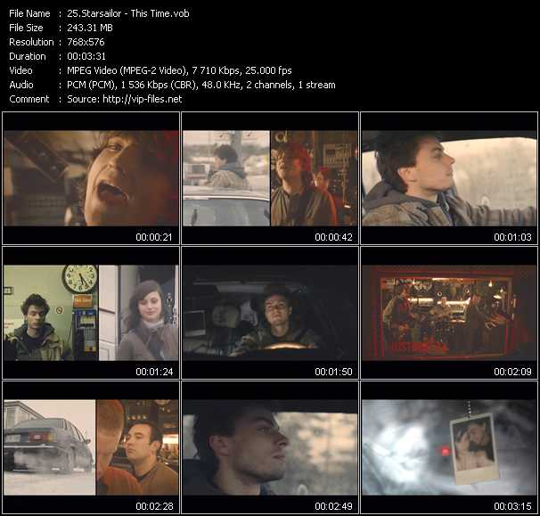 Starsailor video screenshot