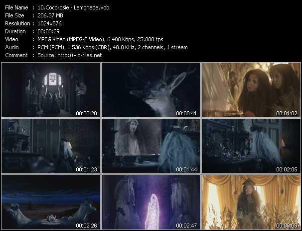 Cocorosie video screenshot
