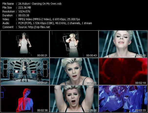 Robyn video screenshot