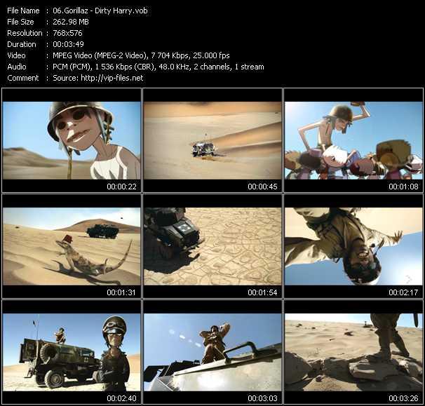 Gorillaz video screenshot