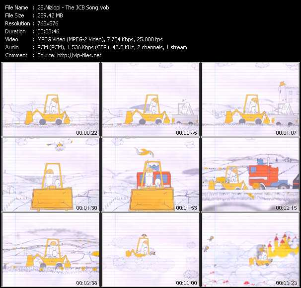 Nizlopi video screenshot