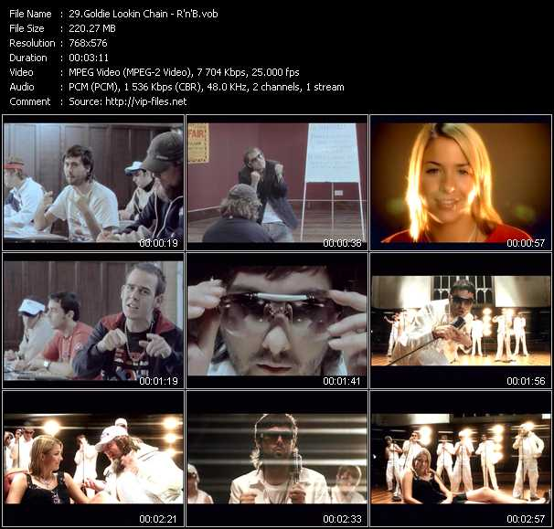Goldie Lookin Chain video screenshot