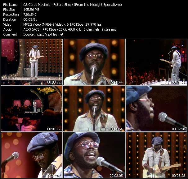Curtis Mayfield video screenshot