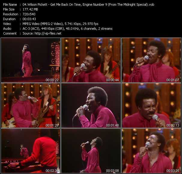 Wilson Pickett video screenshot