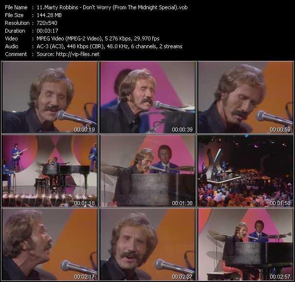Marty Robbins video screenshot