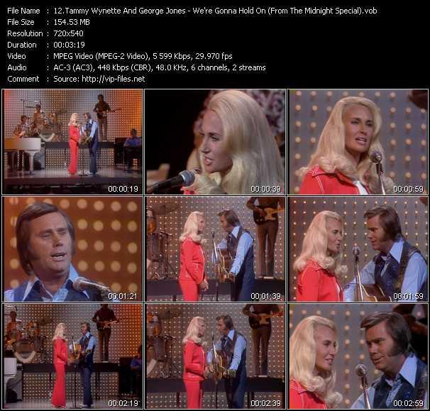Tammy Wynette And George Jones video screenshot