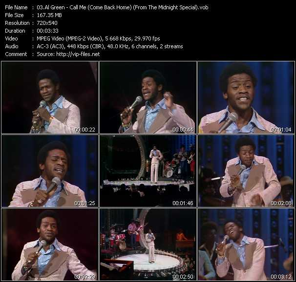 Al Green video screenshot