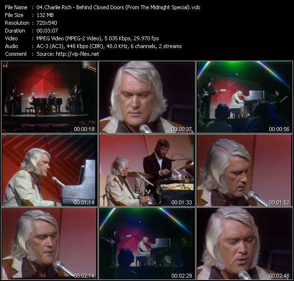 Charlie Rich video screenshot