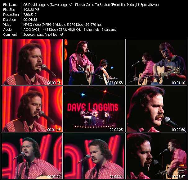 David Loggins (Dave Loggins) video screenshot
