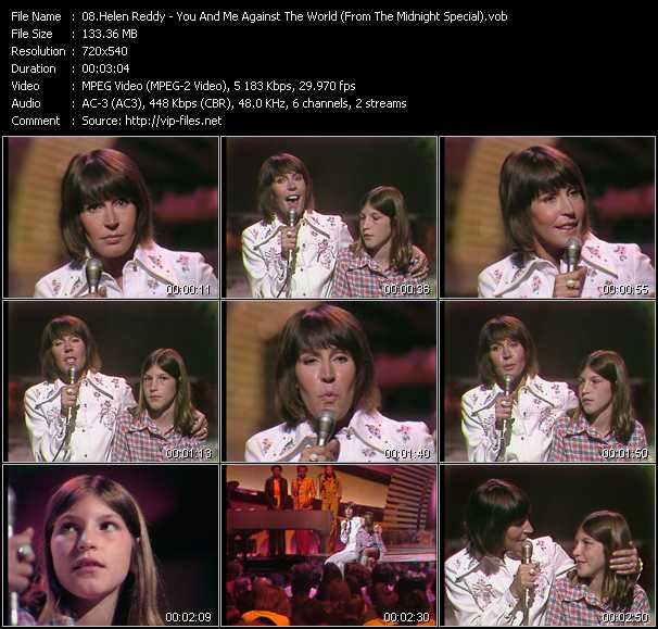 Helen Reddy video screenshot