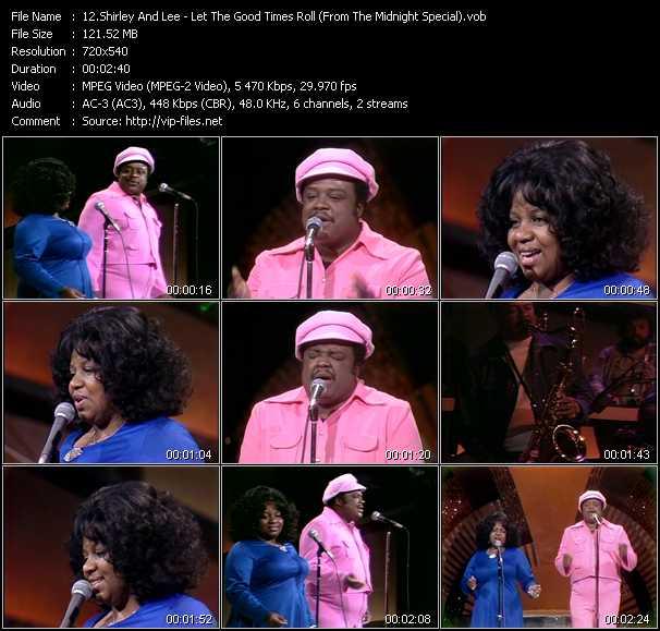 Shirley And Lee video screenshot