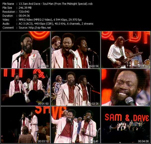 Sam And Dave video screenshot