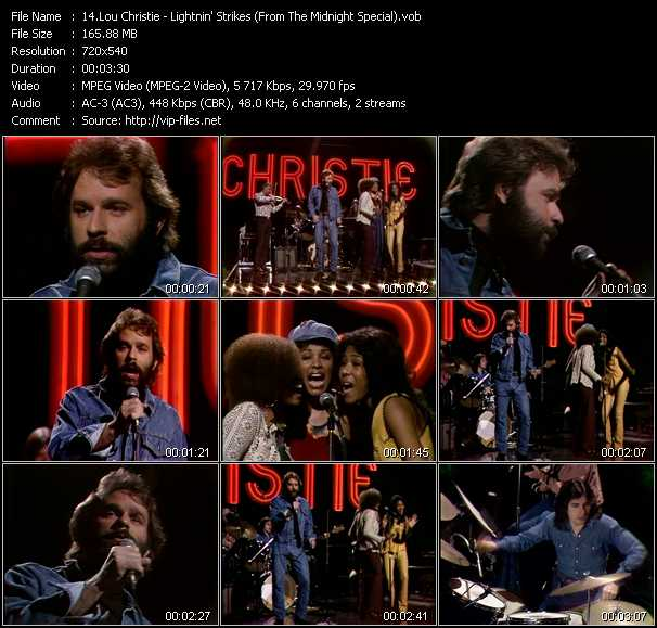 Lou Christie video screenshot