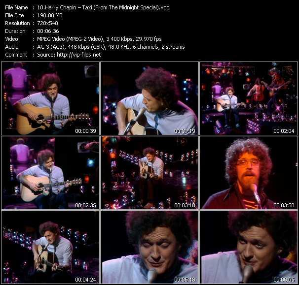 Harry Chapin video screenshot