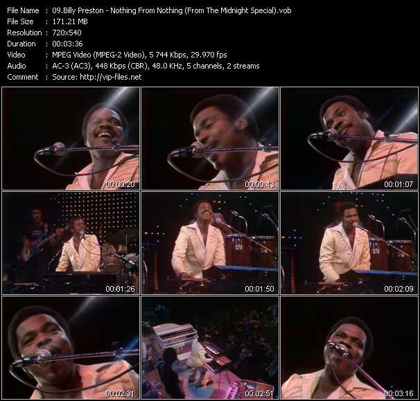 Billy Preston video screenshot