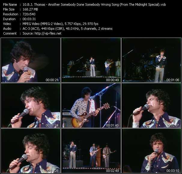 B.J. Thomas video screenshot