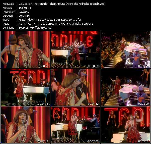 Captain And Tennille video screenshot