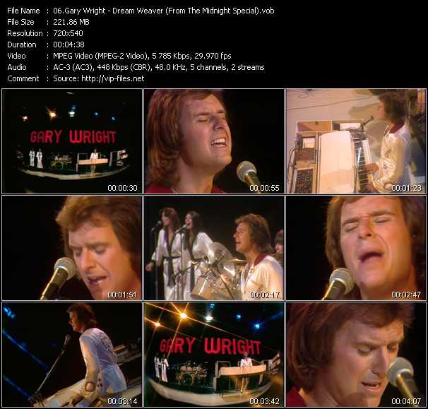 Gary Wright video screenshot