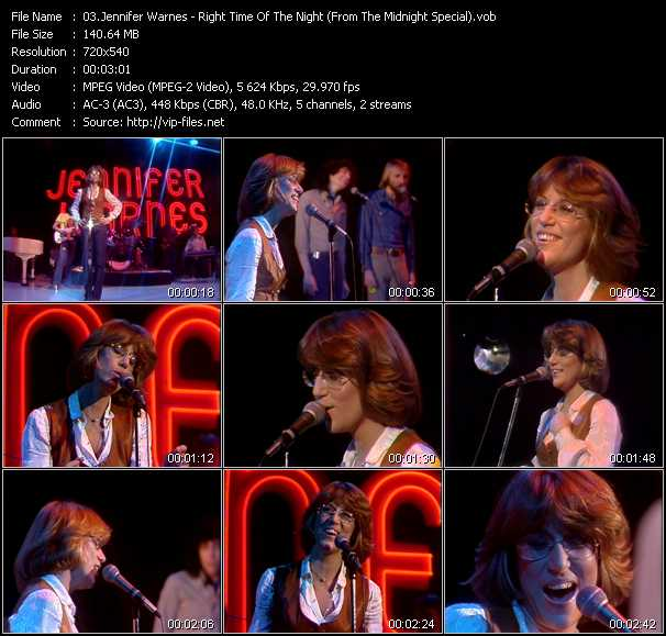 Jennifer Warnes video screenshot