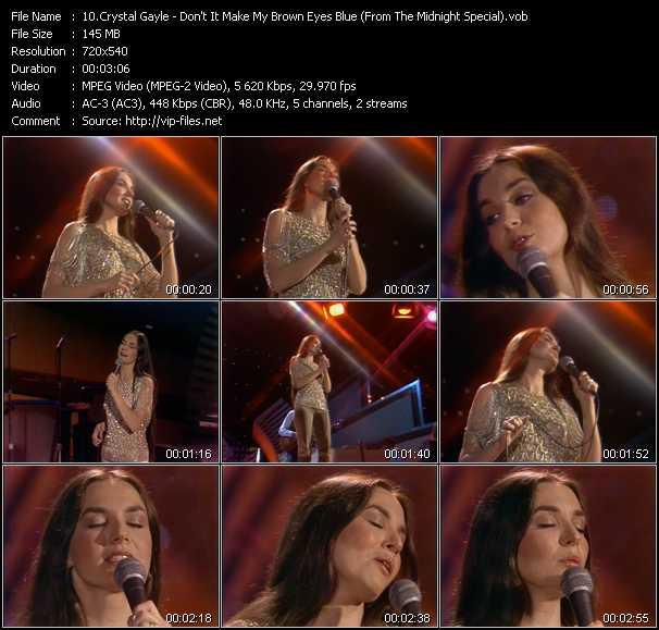 Crystal Gayle video screenshot