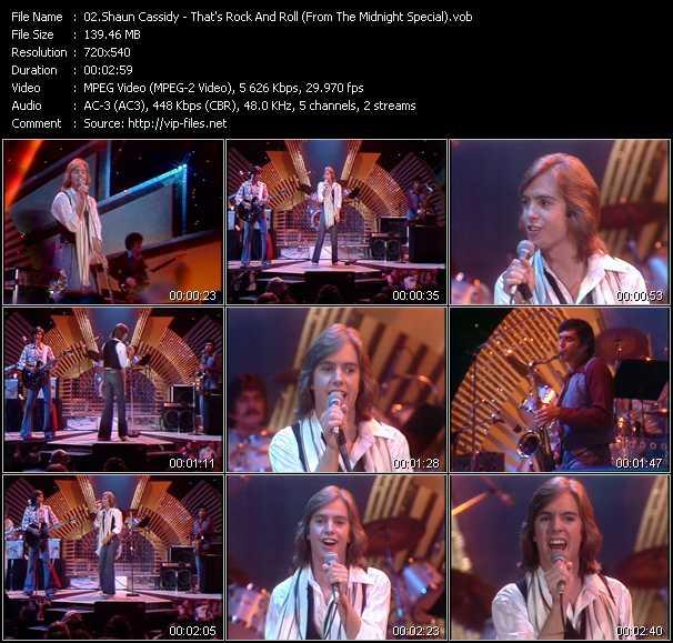 Shaun Cassidy video screenshot