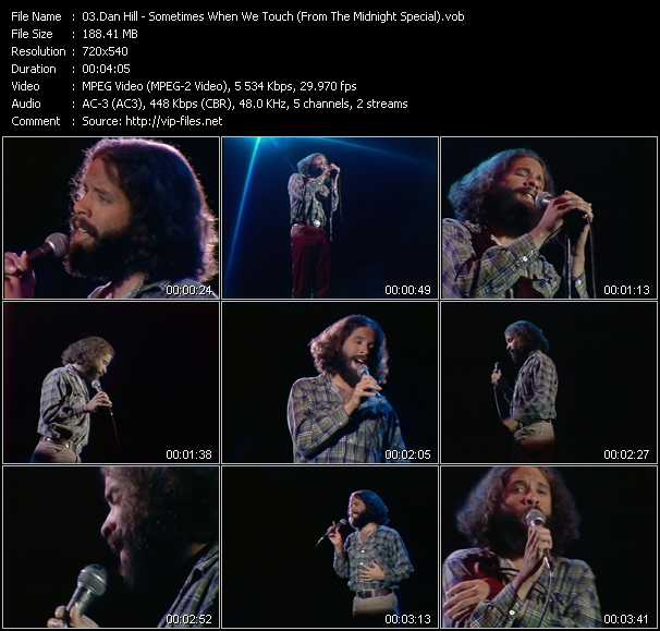 Dan Hill video screenshot