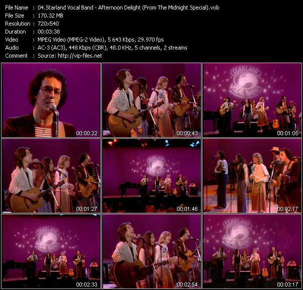 Starland Vocal Band video screenshot