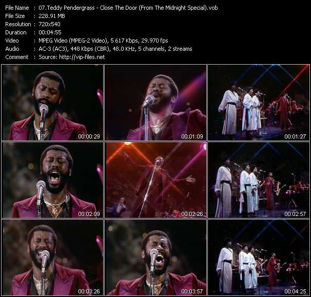 Teddy Pendergrass video screenshot