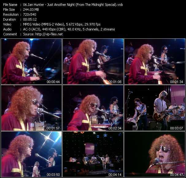 Ian Hunter video screenshot
