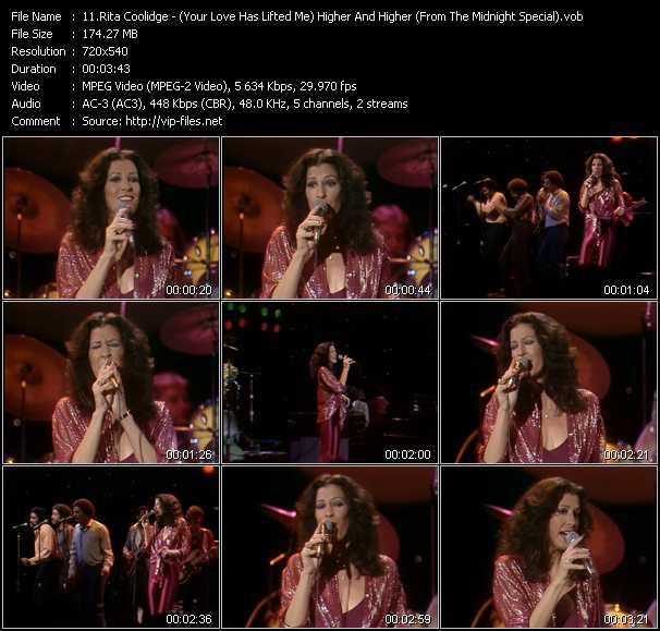 Rita Coolidge video screenshot