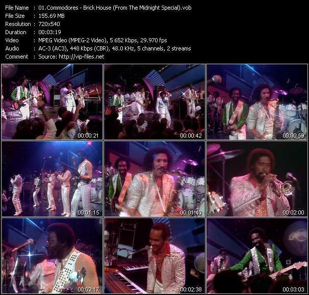 Commodores video screenshot
