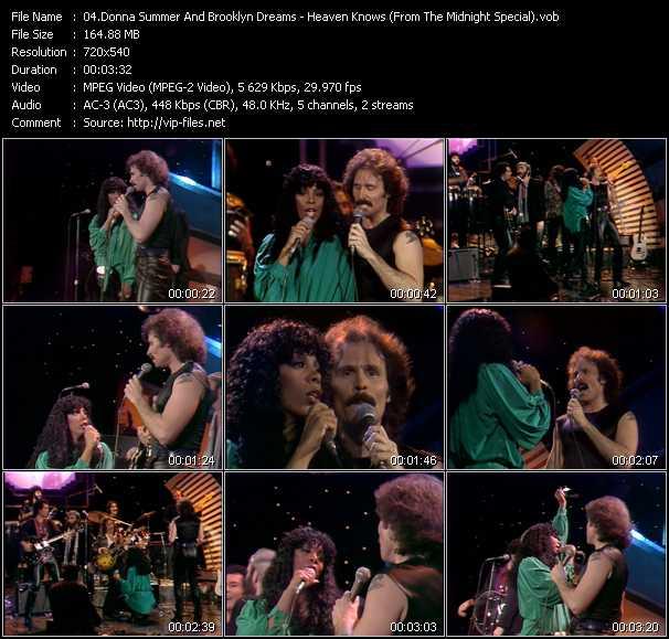 Donna Summer And Brooklyn Dreams video screenshot
