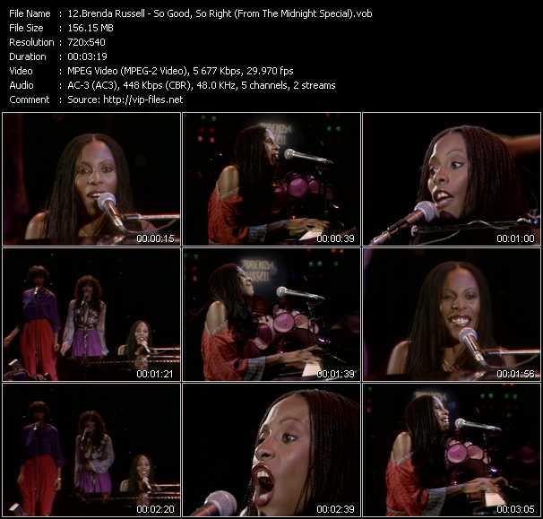 Brenda Russell video screenshot