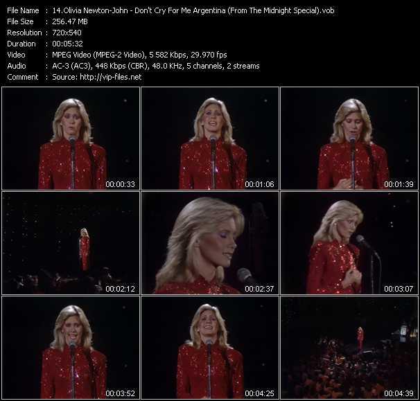 Olivia Newton-John video screenshot