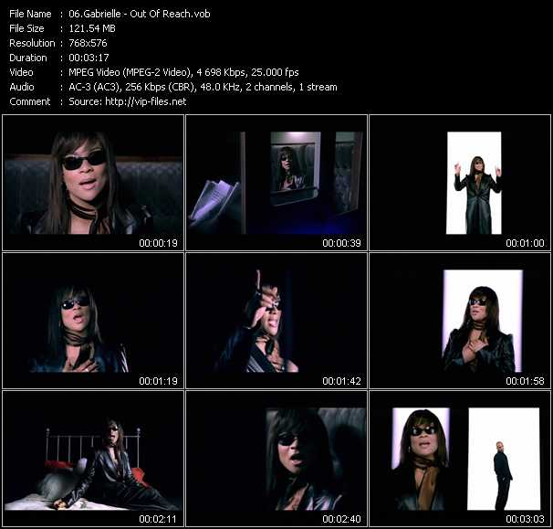 Gabrielle video screenshot