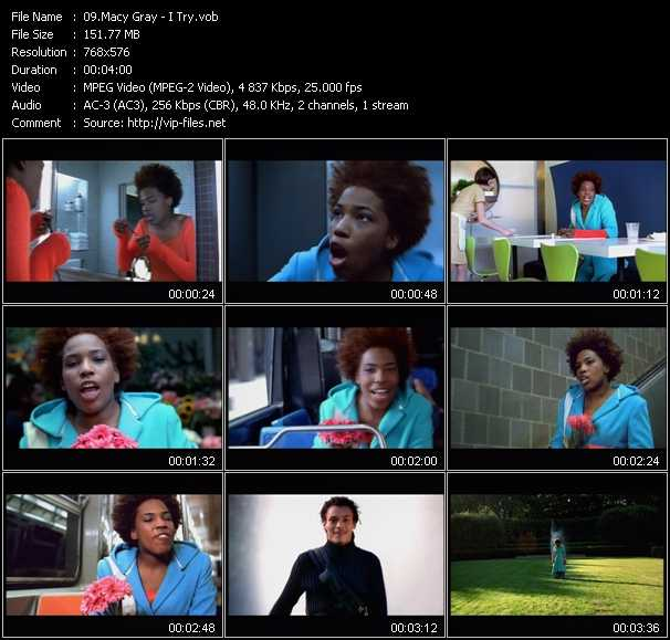 Macy Gray video screenshot