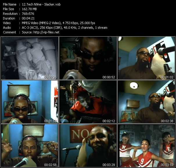 Tech N9ne video screenshot