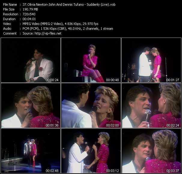 Olivia Newton-John And Dennis Tufano video screenshot